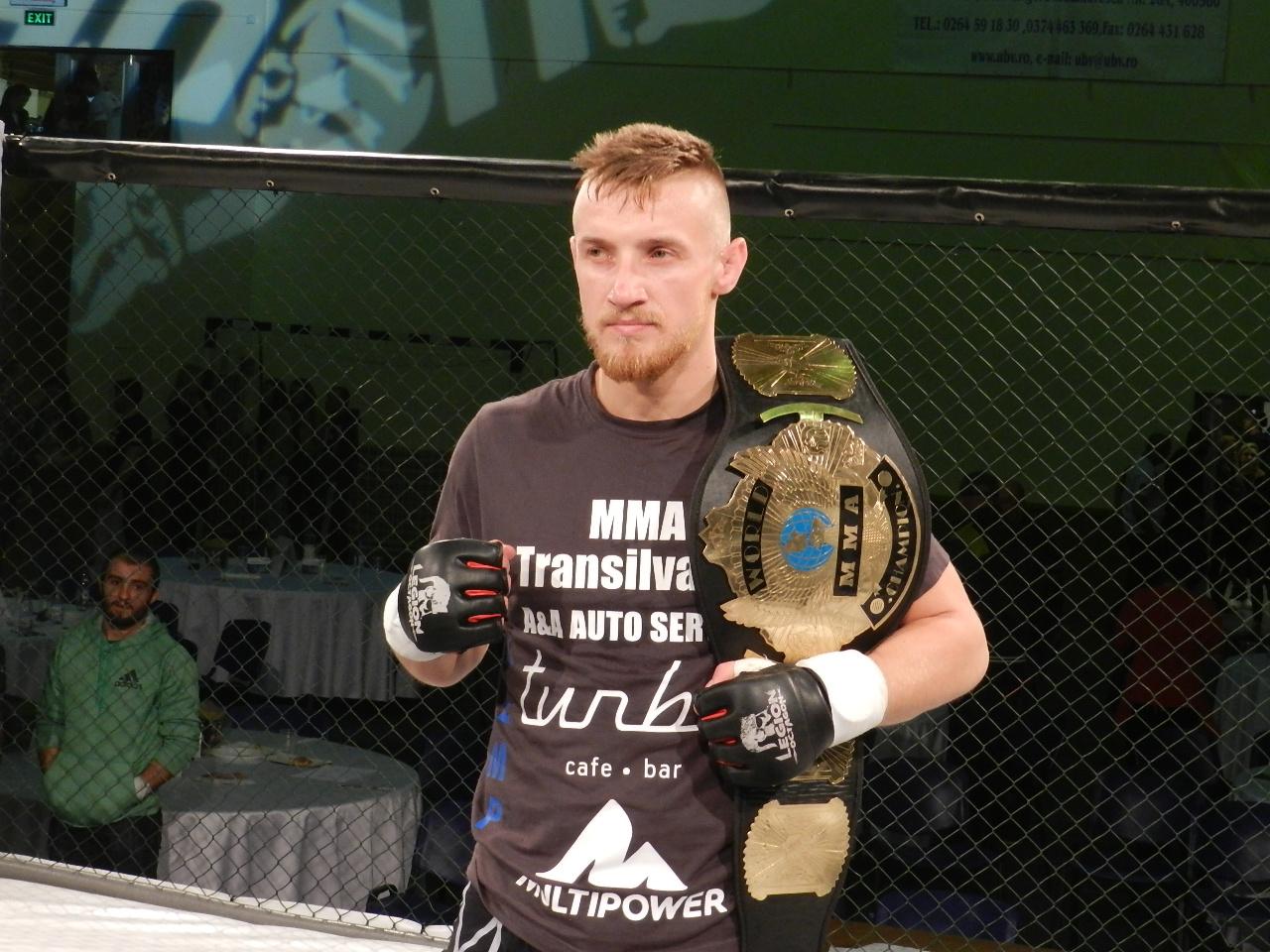 Ciprian Maris - MMA Transilvania