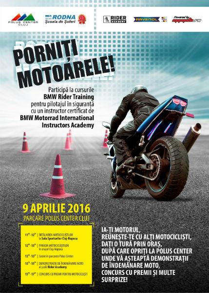 Pasionaţii de motociclete sunt aşteptaţi  în week-end la Polus (P)