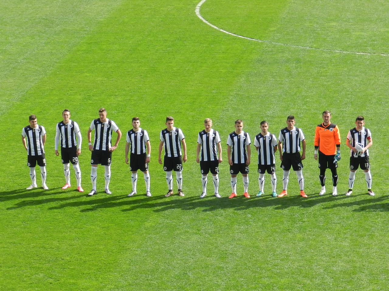 U Cluj - Unirea Tărlungeni 0-0