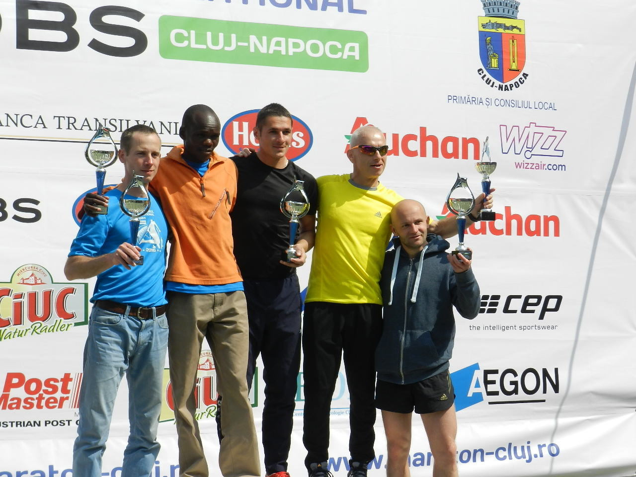 "Atleții din Kenya au triumfat la Maratonul Internațional ""AROBS"" Cluj-Napoca – FOTO"
