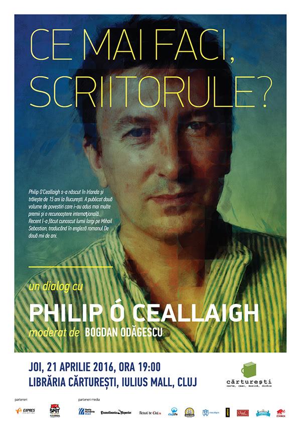 ce mai faci scriitorul philip o ceallaigh