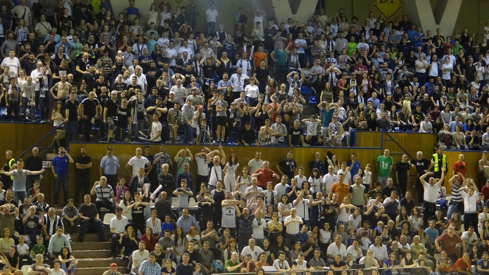fani U BT Cluj - CSU Sibiu 18 aprilie 2016