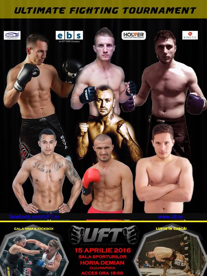 gala UFT Cluj MMA & kickbox 15 aprilie 2016 sala horia demian
