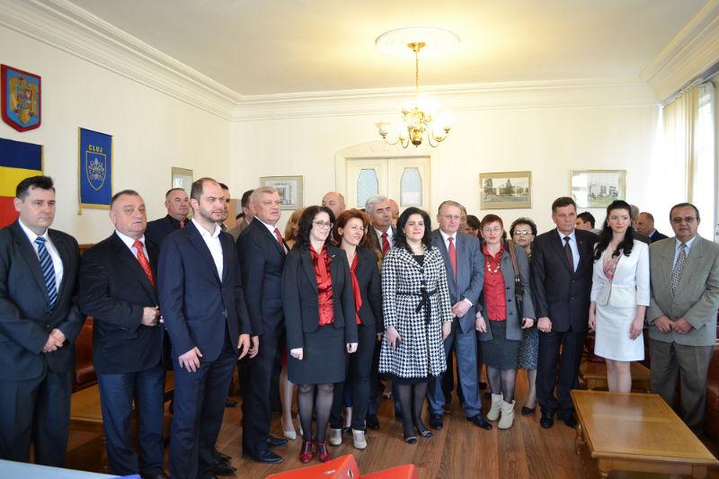 Candidații PSD Cluj și-au depus dosarele de candidatură la Consiliul Județean
