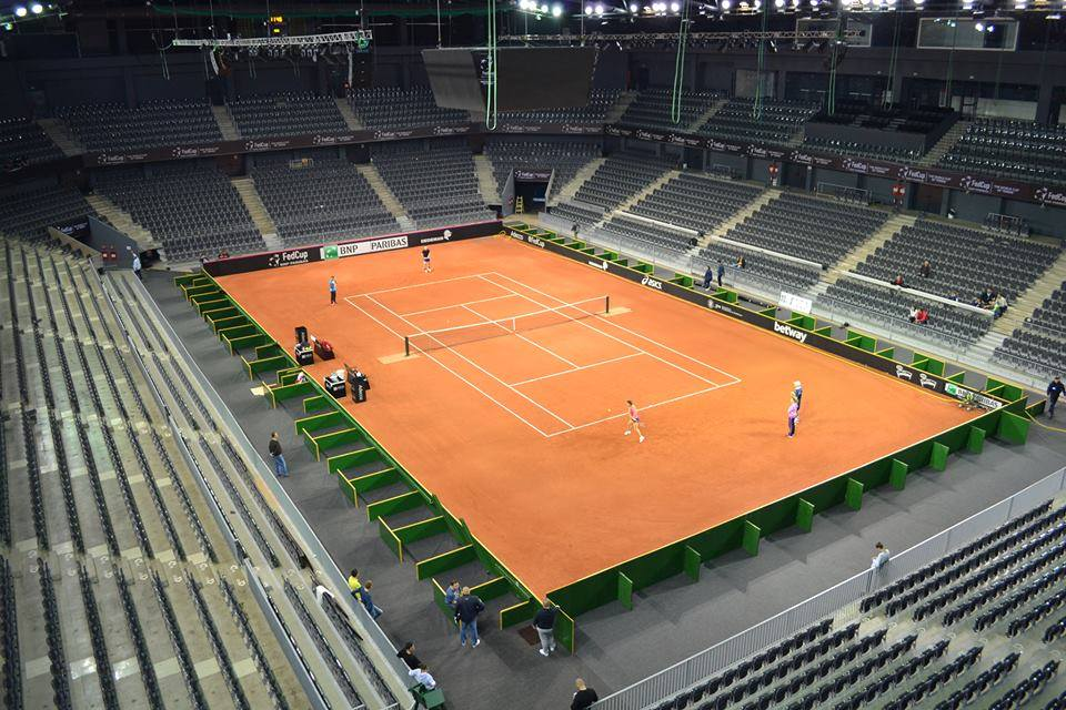 tenis fed cup romania germania polivalenta cluj