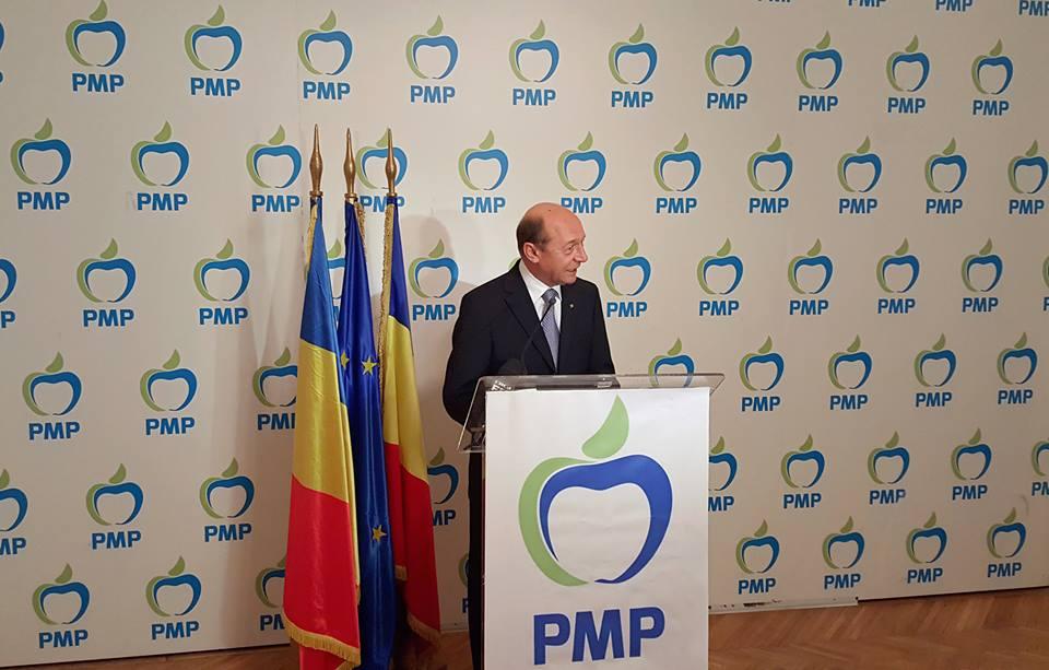 BOMBA ZILEI! Partidul lui Traian Băsescu, PMP, a absorbit UNPR