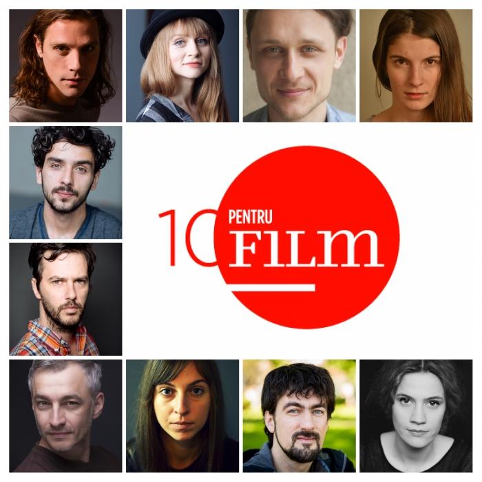 """Actorii selectați în programul """"10 pentru FILM"""" la TIFF 2016"""