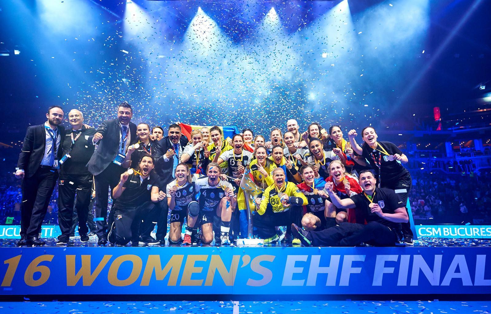 Performanta istorica pentru sportul romanesc! CSM București a câștigat trofeul Ligii Campionilor la handbal feminin, dupa loviturile de la 7 metri