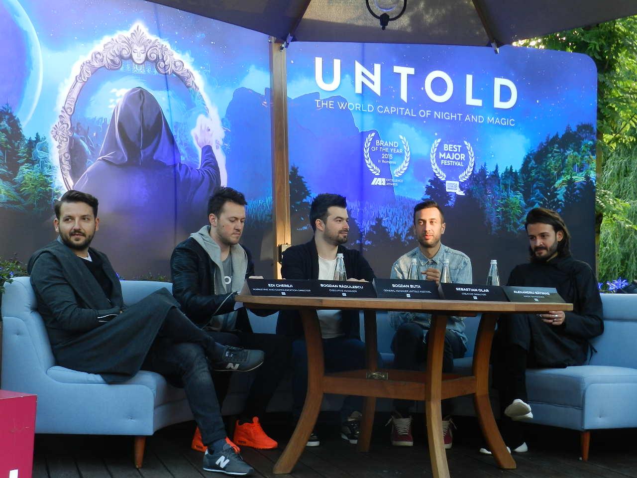 Untold devine anul acesta Capitala Mondială a Nopții și Magiei! Organizatorii își propun să creeze un întreg Univers Untold în jurul festivalului! Peste 300.000 de participanti asteptati la Cluj in 4-7 august!