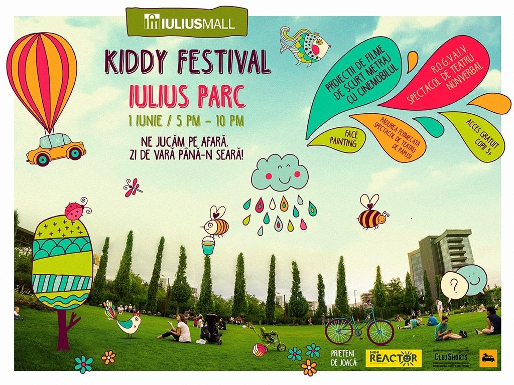 Pe 1 iunie, cele mai frumoase evenimente sunt la Kiddy Festival, în Iulius Parc