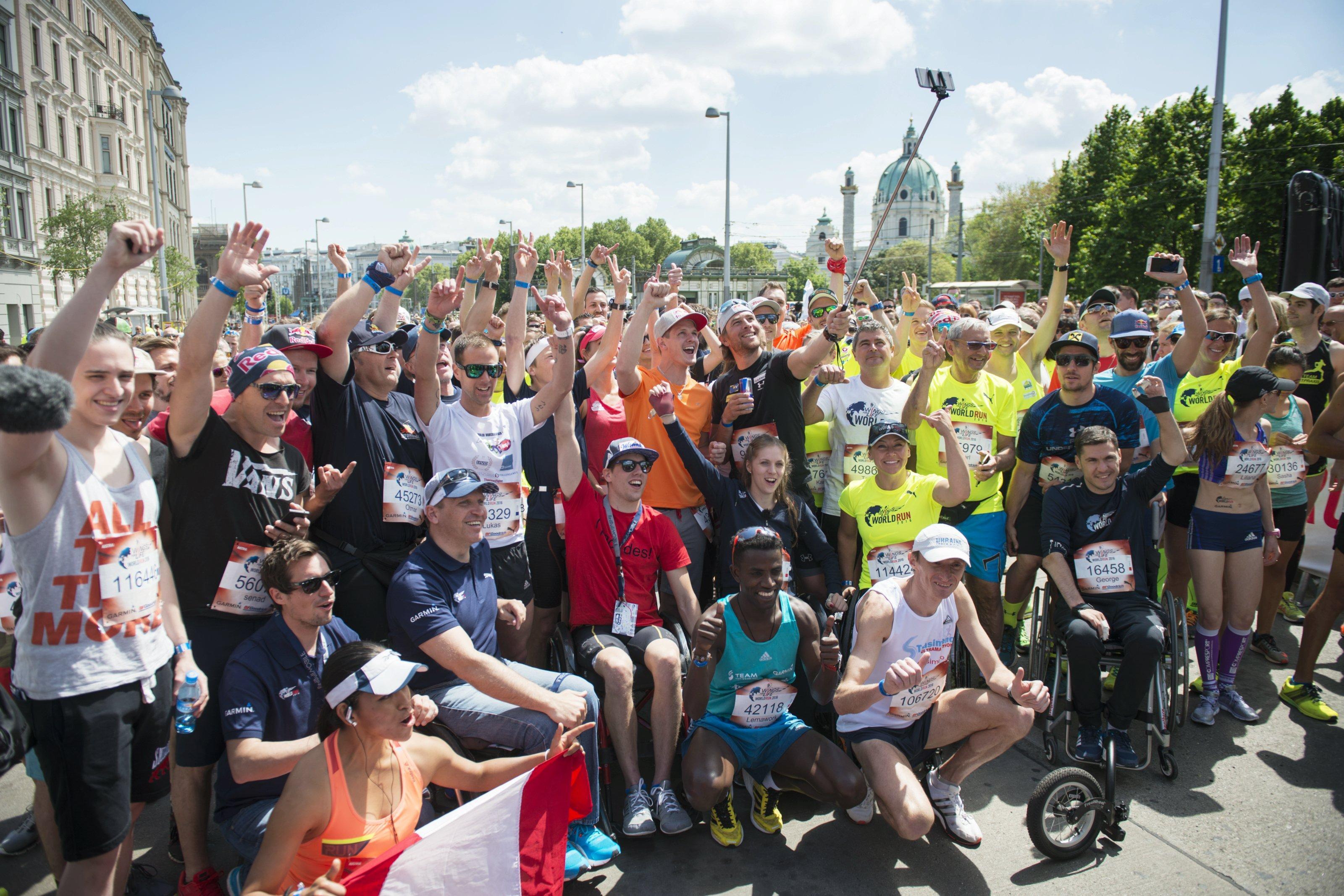 George Baltă și Daniel Osmanovici au prins aripi la cea de a treia ediție a maratonului caritabil Wings for Life World Run