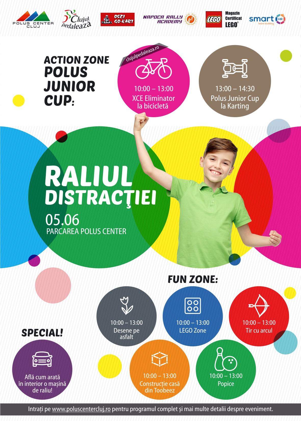 Raliul distracţiei la Polus Center