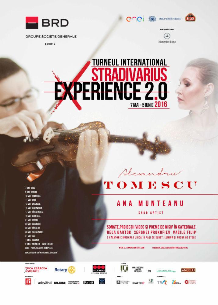 Violonistul Alexandru Tomescu își întâlnește sambata fanii la Polus Center