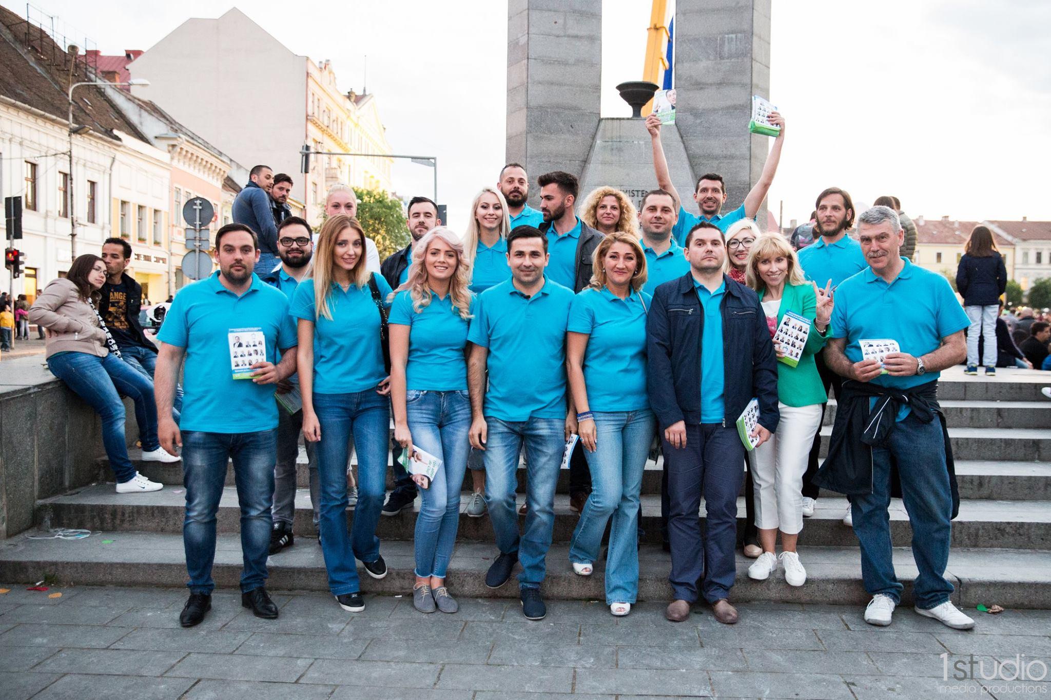 adrian gurzau poza de grup PMP Cluj