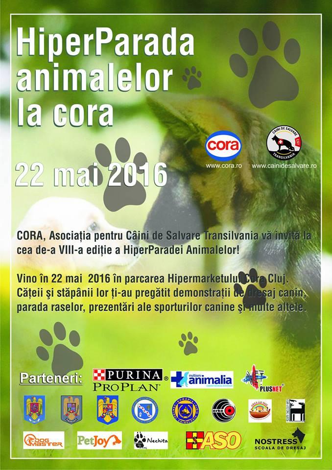 hiperparada animalelor cora 8 ed 22 mai 2016