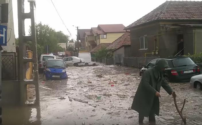 inundatie in dambu rotund 24 mai