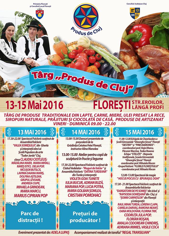 targ produs de cluj 2016 program