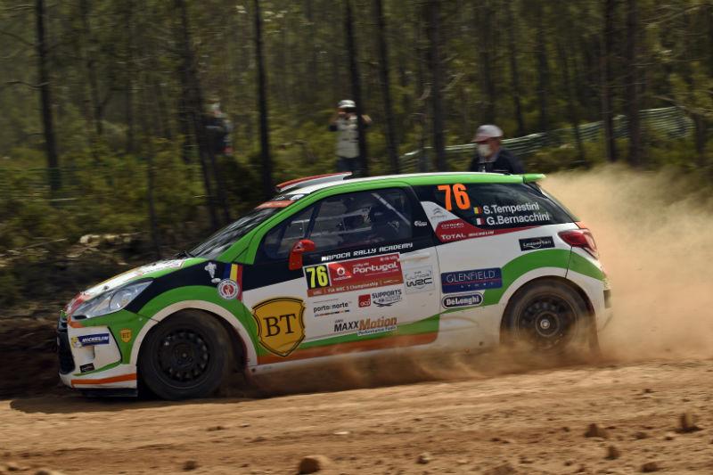 tempestini raliul portugaliei Junior WRC