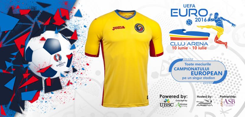 EURO 2016 se vede LIVE pe Cluj Arena! Vino și tu cu întreaga familie să trăiești o atmosferă unică pe cel mai mare stadion din Transilvania!
