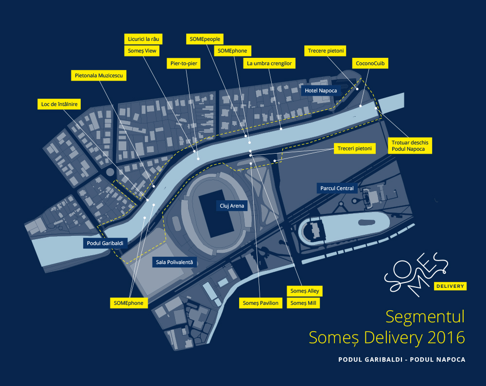 Somes Delivery - harta tronson 2016