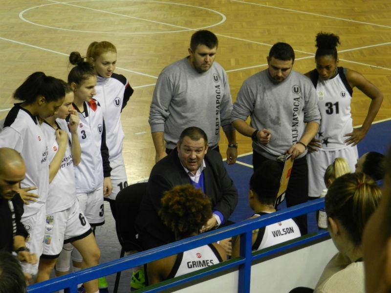 U Cluj baschet feminin