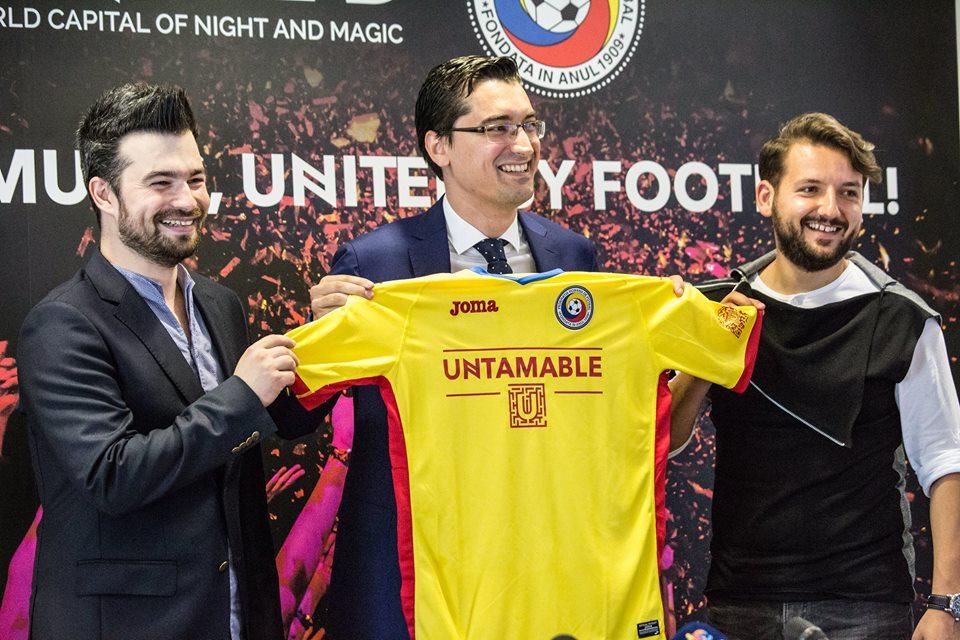 "UNTOLD a realizat un parteneriat cu Federația Română de Fotbal – ""United by music, United by football"""