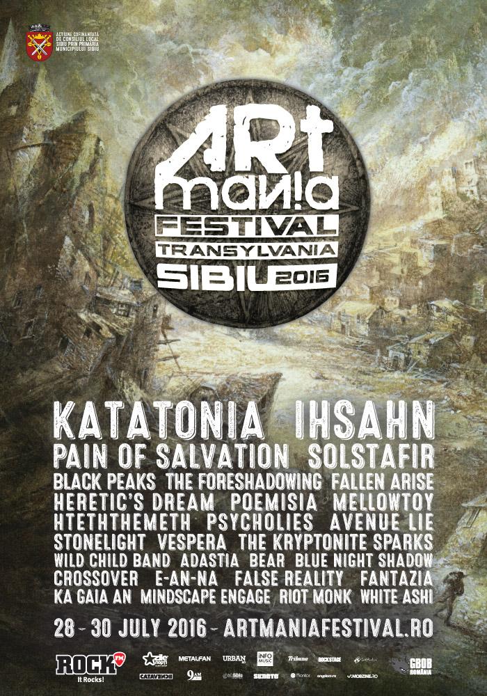 artamania festival sibiu 2016 afis