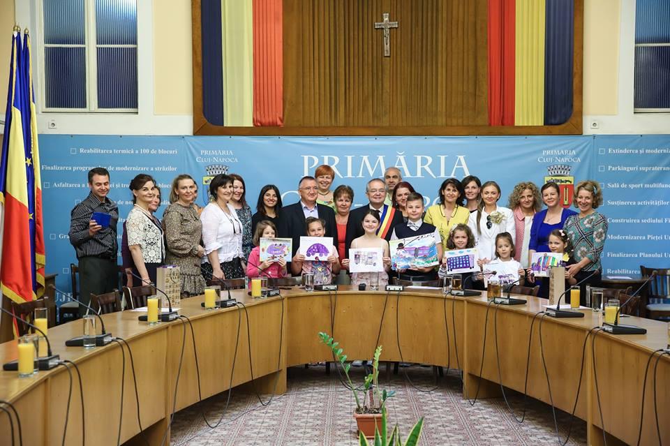 concurs de desene copii pentru mascota oficiala CTP Cluj-Napoca