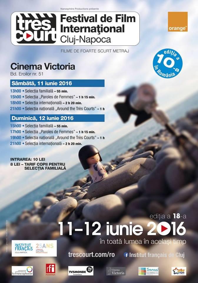 festivalul international de film foarte scurt metraj trest court 2016 cluj