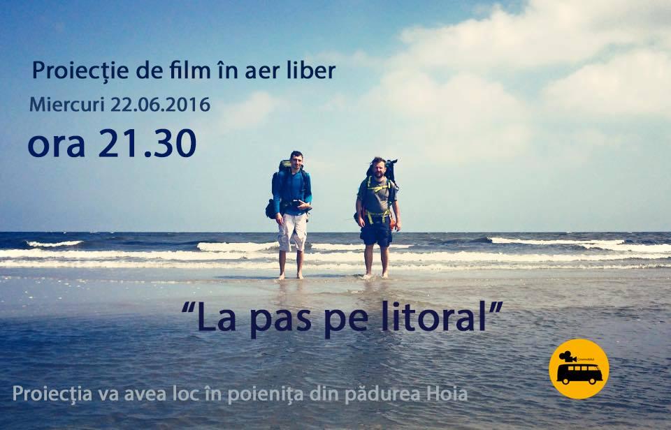"""Cinemobilul aduce miercuri, 22 iunie, in premiera, documentarul """"La pas pe litoral"""" in Padurea Hoia din Cluj"""