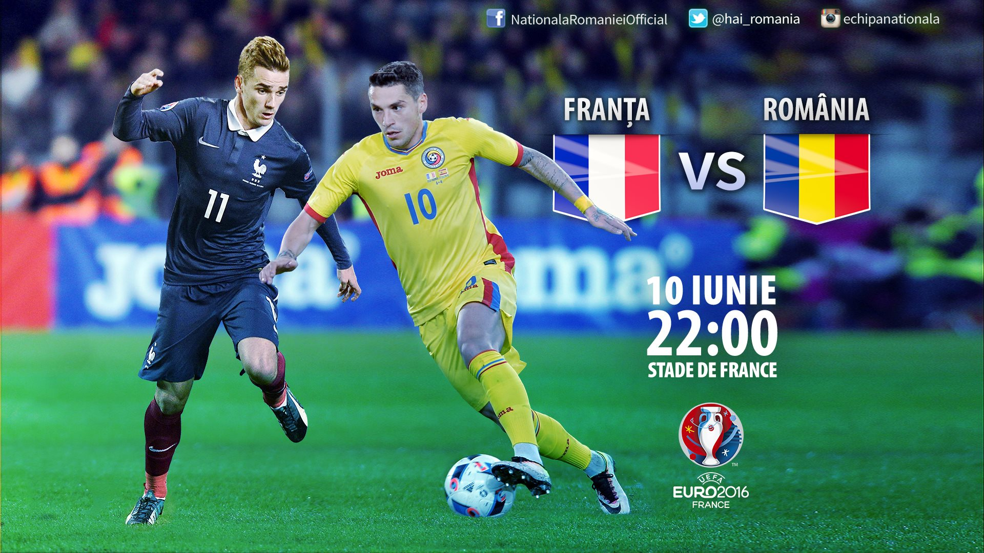 romania - franta euro 2016