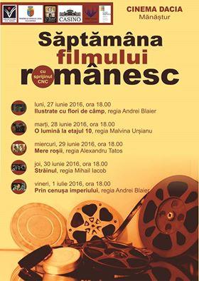 sapt filmului romanesc cinema dacia cluj