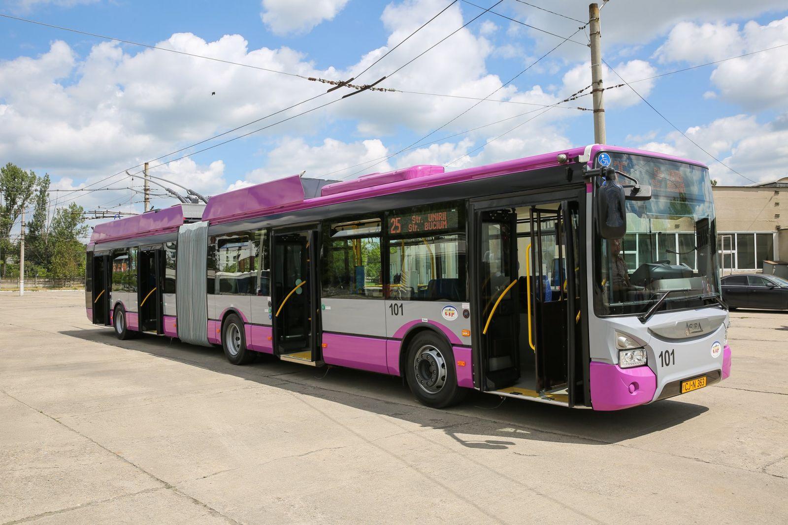 Se introduc noi linii de troleibuz în Cluj-Napoca până la 1 iulie