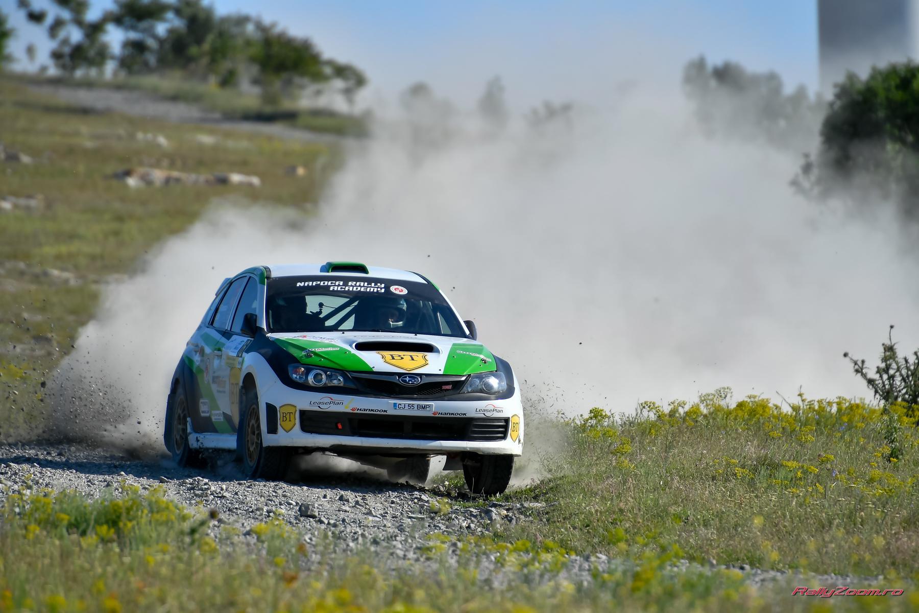 Napoca Rally Academy luptă pe două fronturi în acest weekend