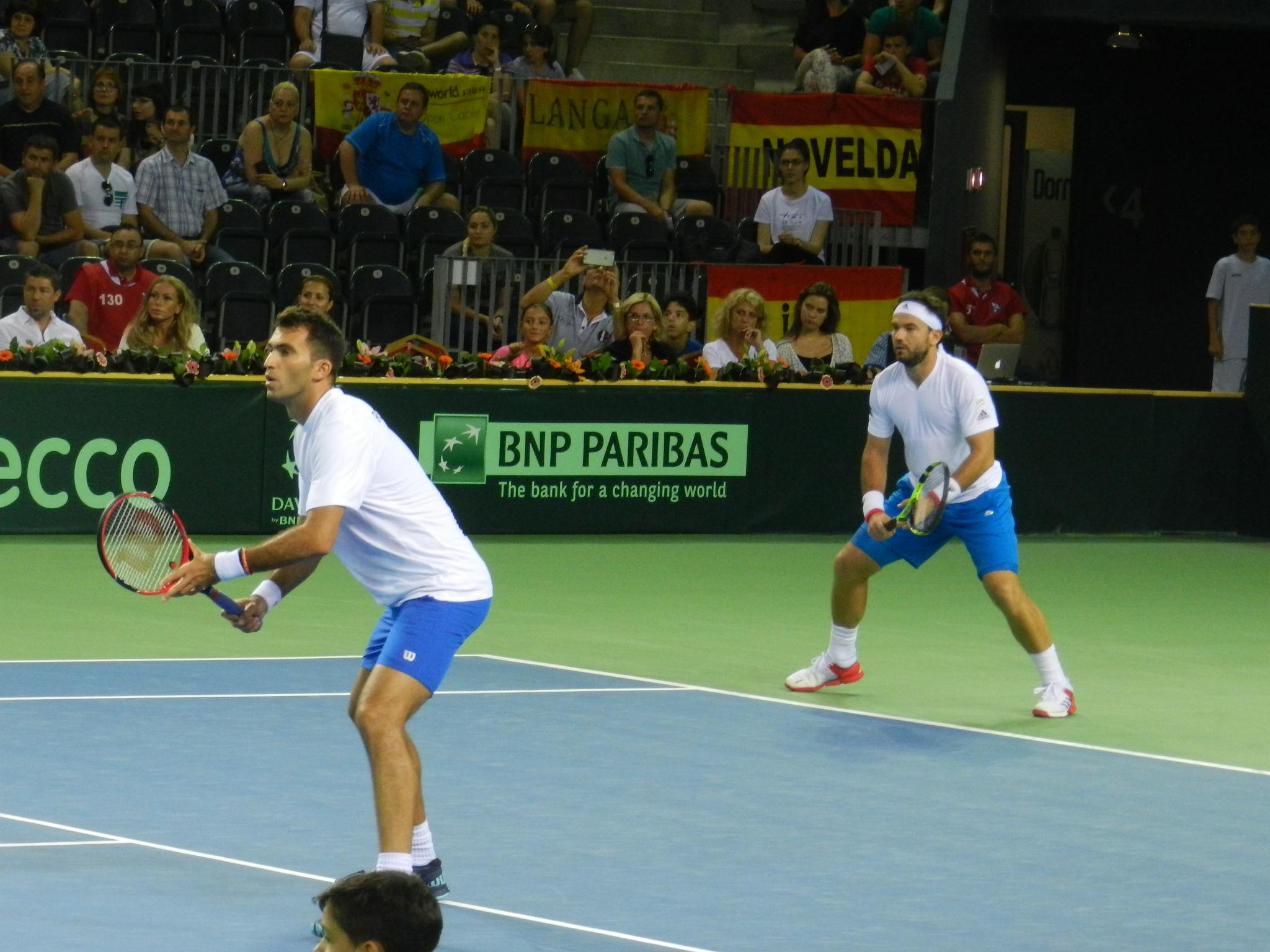 Horia Tecau si Florin Mergea la Cupa Davis
