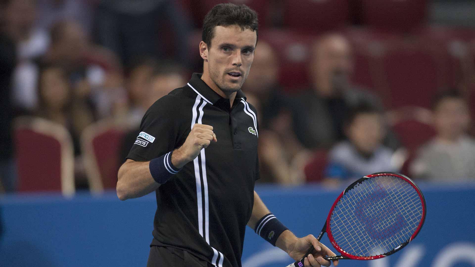 Roberto Bautista, cel mai bine cotat jucător din echipa de Cupa Davis a Spaniei, locul 15 ATP.