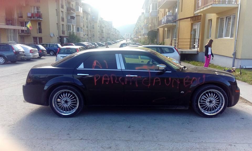 ai parcat ca un bou floresti parcare