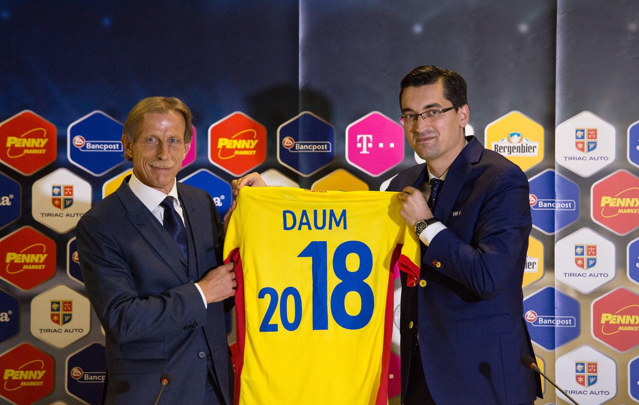 """Christoph Daum, selectioner Romania: """"Vom ataca întotdeauna! Imi voi dedica fiecare zi succesului fotbalului romanesc"""""""