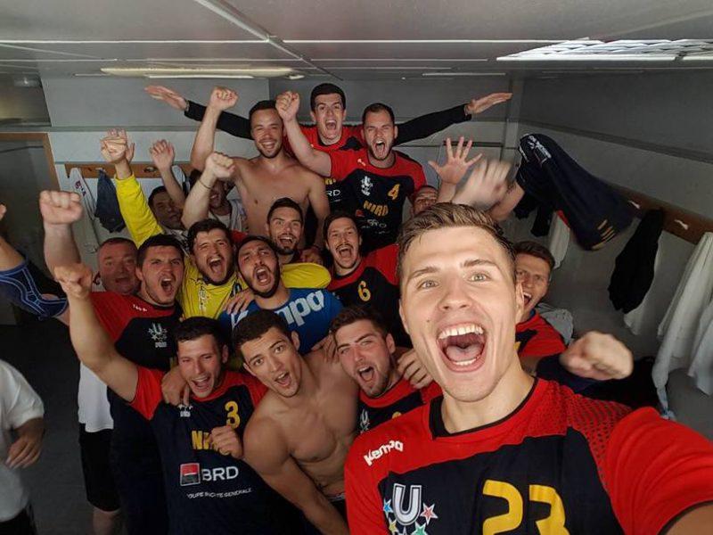 echipa masculina a romaniei la handbal campionatul mondial universitar 2016