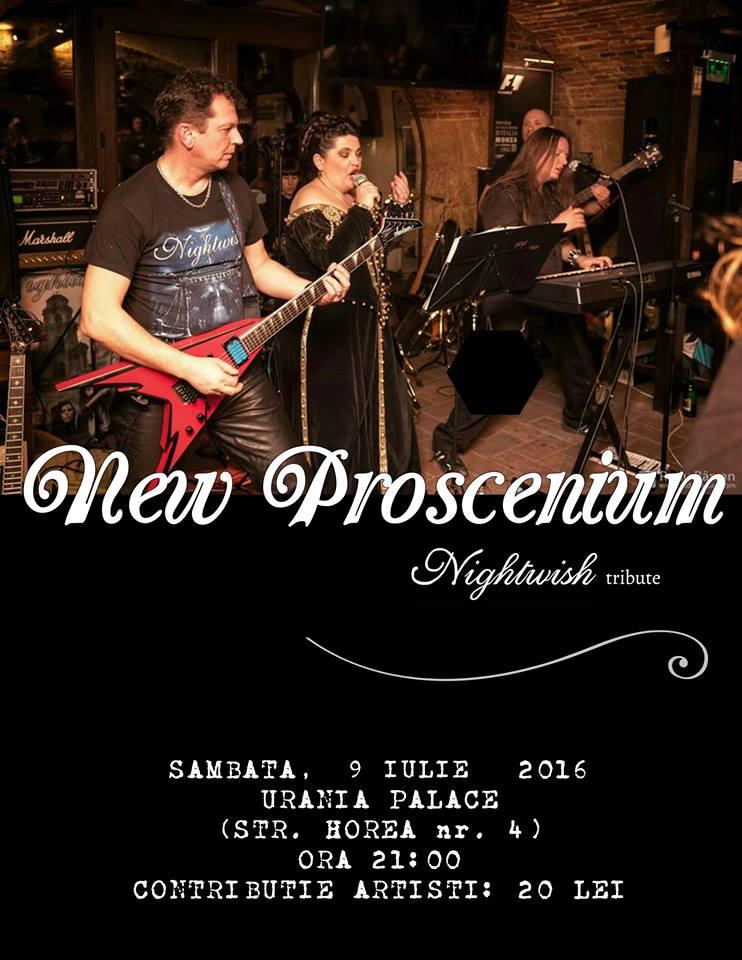 new proscenium tribute nightwish concert urania 9 iulie 2016