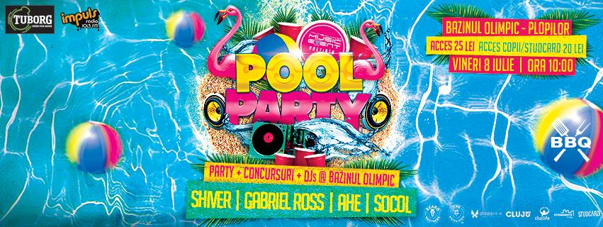 pool party olimpic 8 iulie 2016