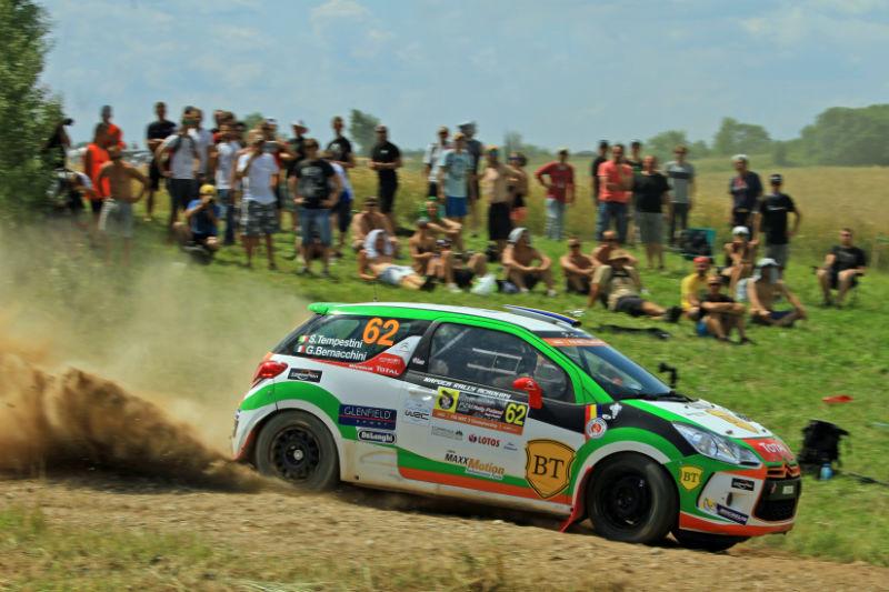 Simone Tempestini este lider în Junior WRC! Napoca Rally Academy se luptă pentru podium și în Raliul Moldovei Moinești