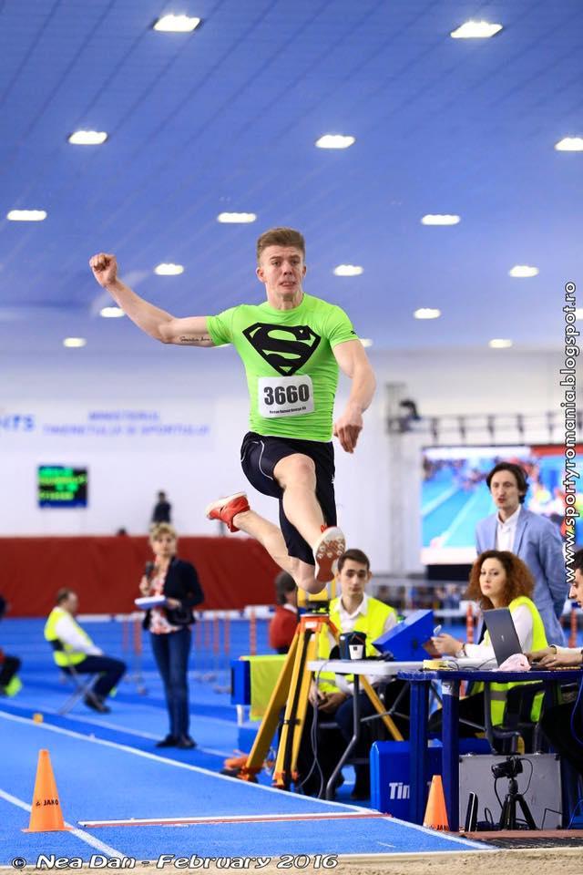 Atletul Răzvan Roman țintește un nou titlu de campion național