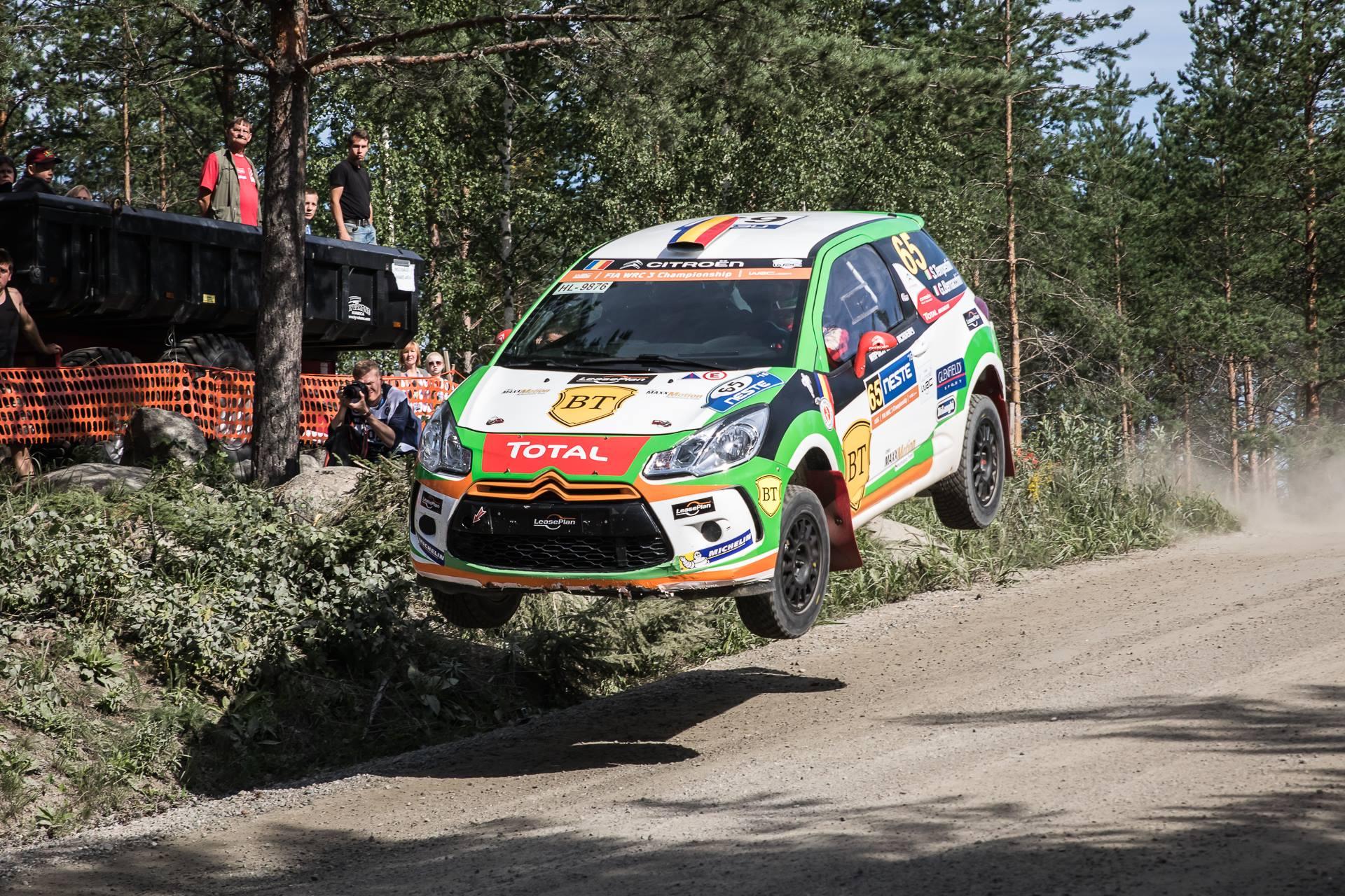Simone Tempestini a câștigat legendara Ouninpohja și își consolidează poziția secundă în Junior WRC la Raliul Finlandei