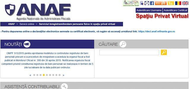 Declarațiile fiscale vor fi depuse exclusiv online începând cu 2017