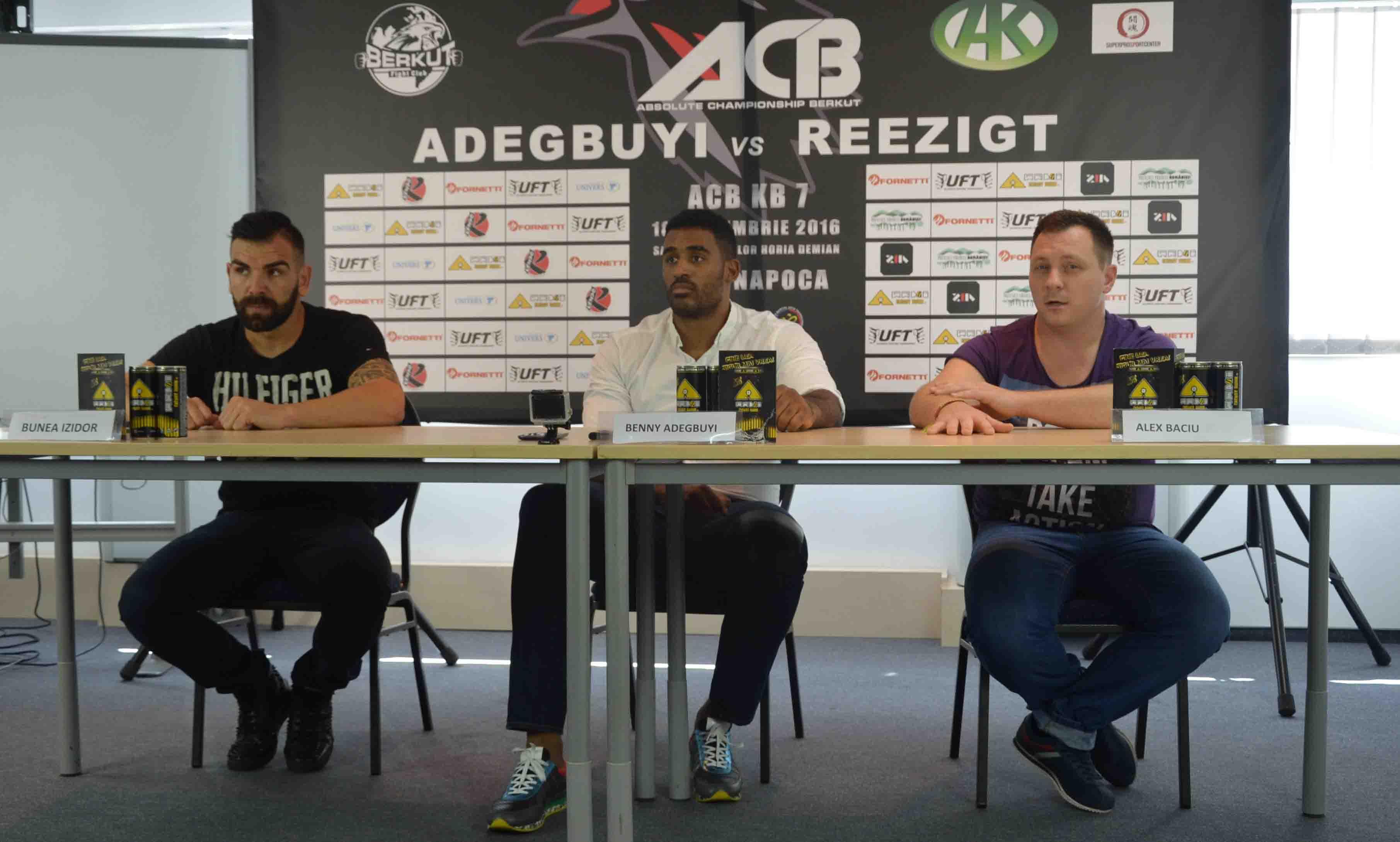 Conferinta de presa Gala de Kickboxing ACB KB 7 - BENNY vs REEZIGT