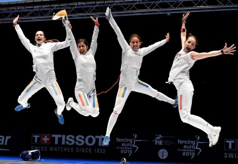 Echipa feminină de spadă a României a cucerit aurul olimpic! Prima medalie a Romaniei la Jocurile Olimpice de la Rio 2016