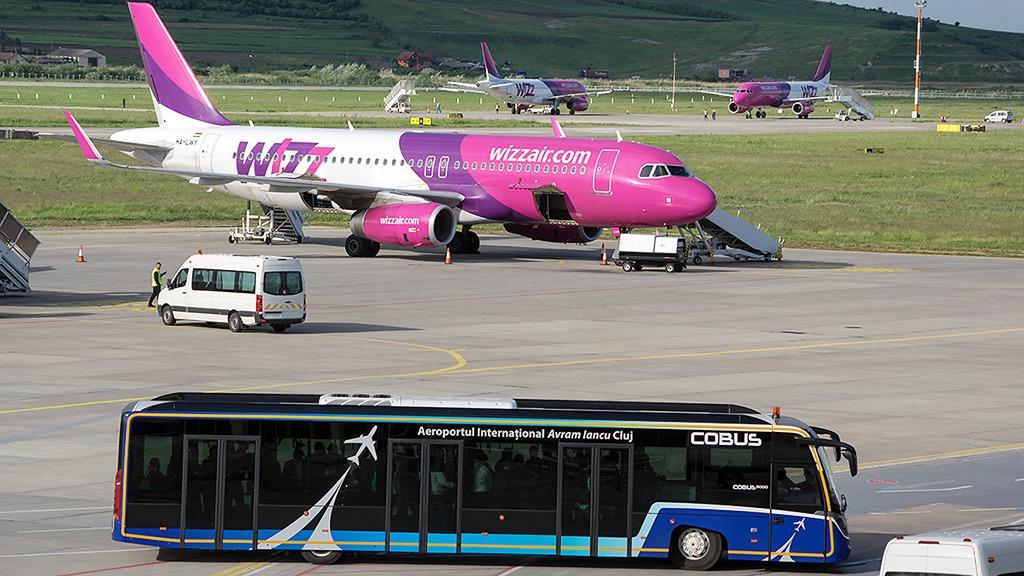 CORONAVIRUS. Wizz Air suspendă toate rutele spre Franța și Germania din cauza restricțiilor autorităților române