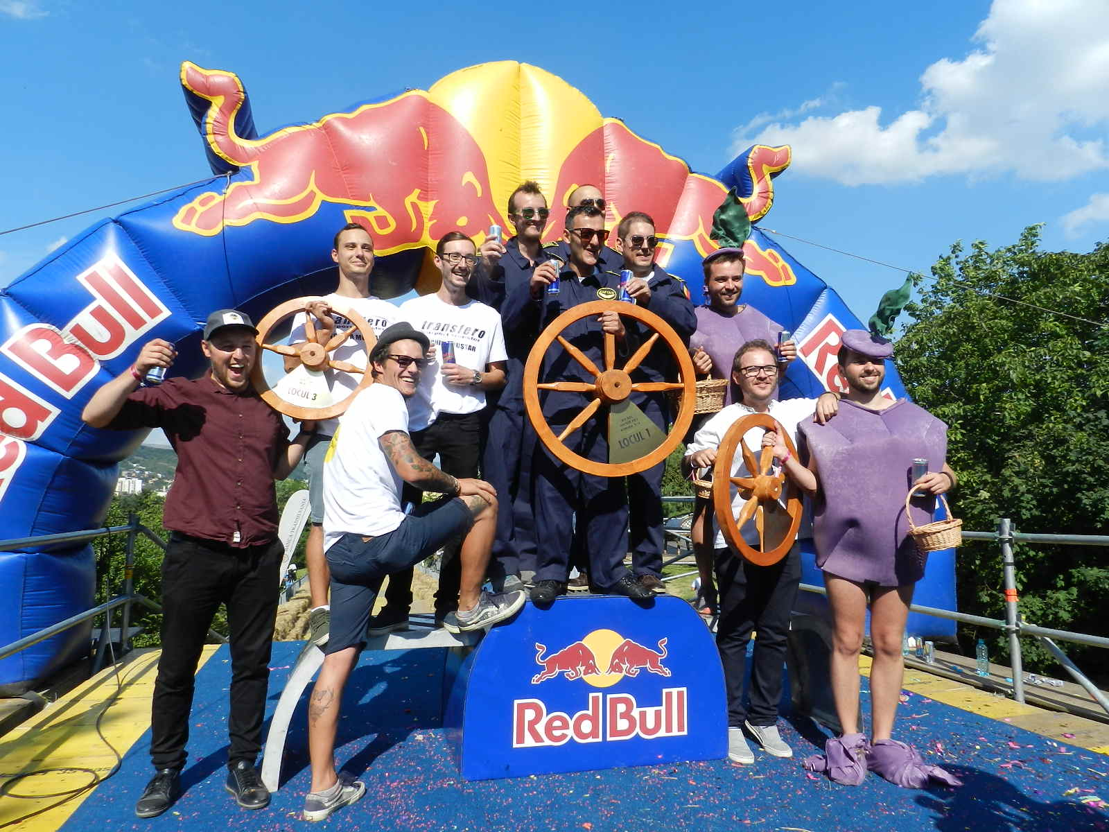 Câstigători Red Bull Soap Box Race 2016