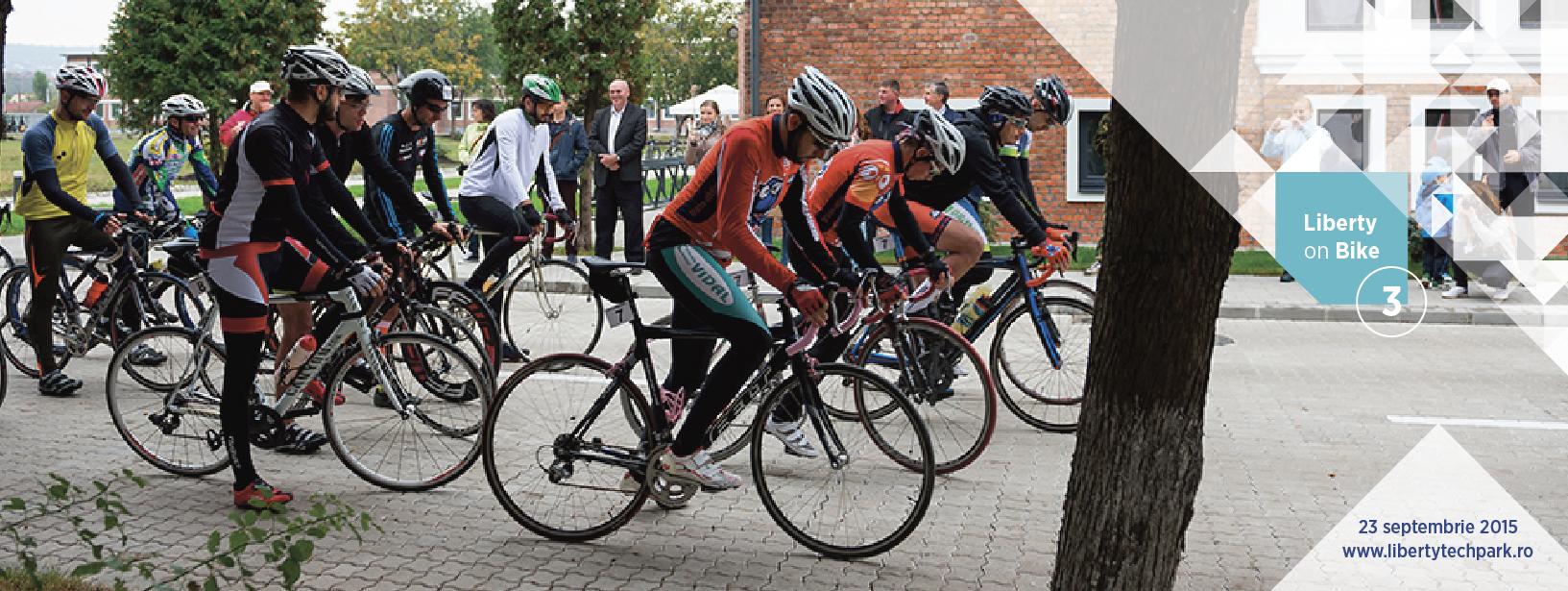 Liberty on Bike 2016: pedalează în sprijinul copiilor din comunități izolate ale județului